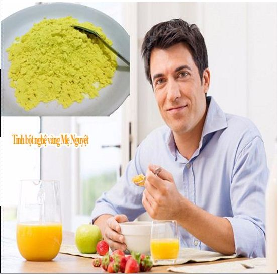 Công dụng của tinh bột nghệ chữa bệnh dạ dày